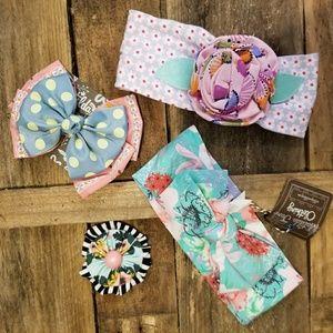 🆕️Matilda Jane bow & headband bundle